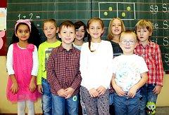 Žáci 1.B ze ZŠ a MŠ Vítězná