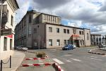 Bývalá Mayerova továrna.