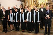 Královédvorský chrámový sbor uvedl premiéru nového díla Juraje Filase