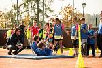 Trojnásobná mistryně světa Kateřina Kudějová v Úpici podpořila projekt Sazka Olympijský víceboj.