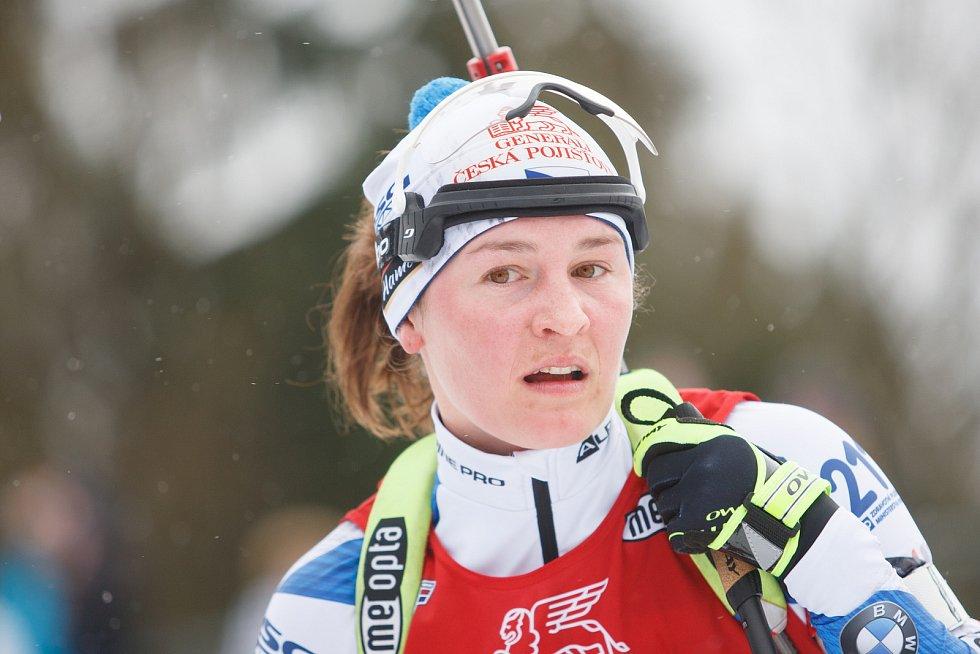 Jednou z nástupkyň biatlonistky Veroniky Vítkové by se již brzy mohla stát Tereza Voborníková z Hostinného.