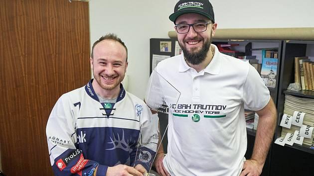 Hokejisté Trutnova získali Pohár Krkonošského deníku. V derby se jim dařilo nejvíc.