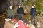 Detailní výzkum krkonošského krasu přinese poznatky o geologickém vývoji, krápníkové výzdobě a jeskynních sedimentech. Albeřičtí jeskyňáři absolvují nejrozsáhlejší bádání v  Albeřické jeskyni, která je největší v Krkonoších.