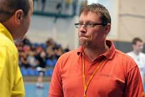 Asistent trenéra Frýdku-Místku Petr Mazur.