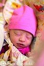 EMMA BRAUNOVÁ se narodila rodičům Michalu Braunovi a Veronice Bucharové 12. prosince ve 14.15 hodin v Jilemnici, kde též bydlí. Vážila 3, 06 kilogramu a měřila 47 centimetrů.