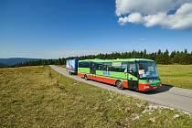 Krkonošské cyklobusy jezdí na šesti linkách. Loni přepravily 41 804 osob a 3612 jízdních kol.