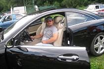 Sraz Mercedesů v Pekle u Trutnova