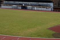 Stadion pod Hankovým domem (10. 3. 2009).