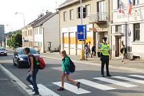 NEJVĚTŠÍ RIZIKA pro školáky souvisejí s automobilovou dopravou.