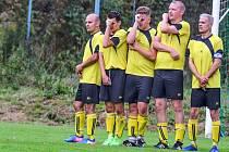 Fotbalisté Libče se debaklu na hřišti Mladých Buků neubránili.