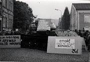 Srpen 1968 v Trutnově.