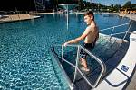 V úterý 30. června bylo poprvé otevřeno veřejnosti letní koupaliště v Trutnově po rozsáhlé roční rekonstrukci.