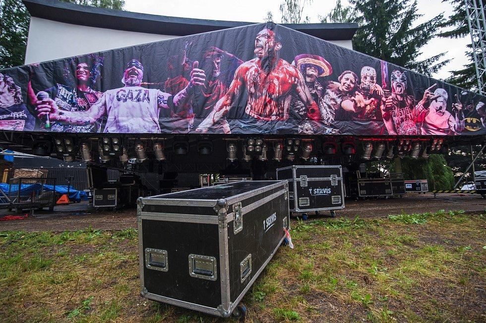 Na Bojišti začne ve středu hudební festival Obscene Extreme.