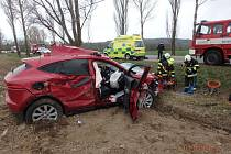 Dopravní nehoda v Choustníkově Hradišti