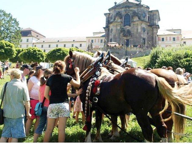 HOSPITAL SE OPRAVUJE, ale památka je pro návštěvníky otevřena a kulturní akce se tu konají stále. Úspěšný byl Den koní a řemesel, nyní se tu chystají na Vinobraní a Vánoční trhy.