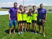 Zástupci AC Turnov na dětské Olympiádě v Brně