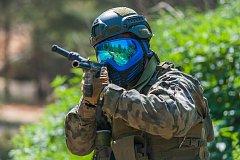 Operace Krakonoš v military paintballu.