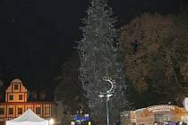 Rozsvícení stromu ve Vrchlabí