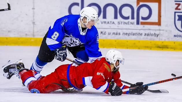 Jablonečtí hokejisté opět položili soupeře z Nové Paky na lopatky.