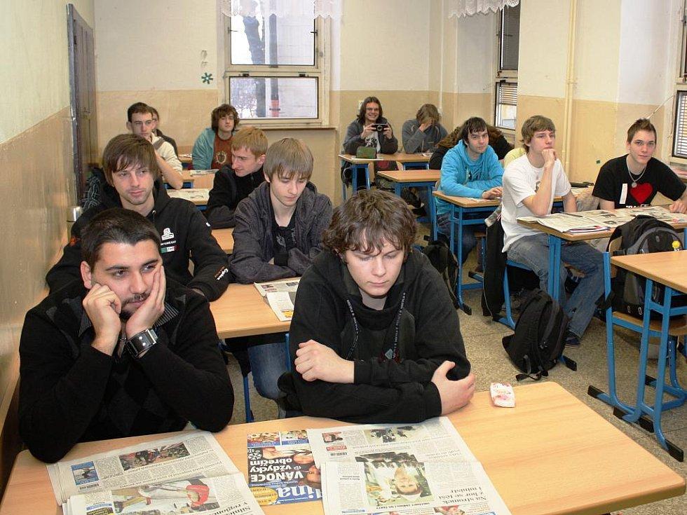 Deník vyučuje: SPŠ Trutnov