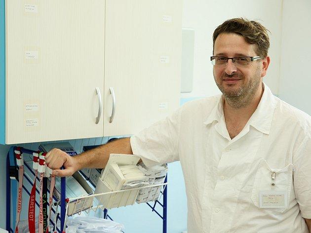 Michal Mrázek, ředitel Nemocnice Vrchlabí.