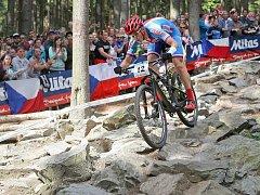Olympijský vítěz Jaroslav Kulhavý bude největší hvězdou víkendového šampionátu bikerů v Peci pod Sněžkou.