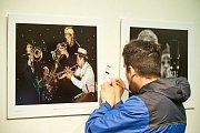 Z vyhlášení a vernisáže výstavy k Jazz World Photo 2019.