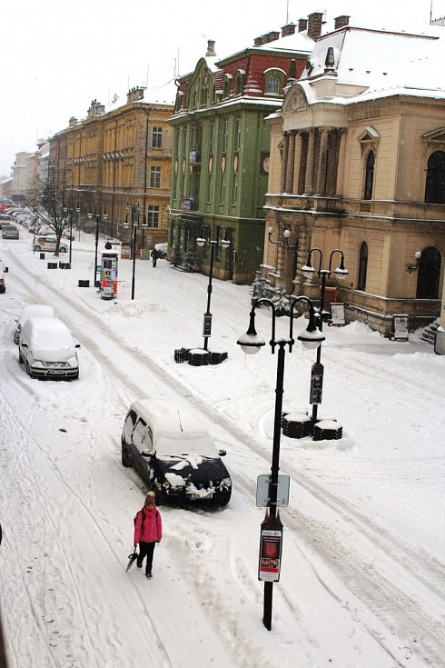 Sněhová situace na Královéhradecku