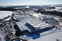 Průmyslová zóna ve Vrchlabí.