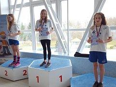 Velmi úspěšné závody v podání plavců TJ Loko UP Group se konaly ve městě perníku. Z padesátimetrového bazénu vylovili reprezentanti Lokomotivy celkem 17 medailí.