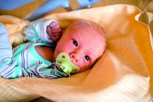 FILIP TUŽ se narodil 28. listopadu rodičům Kateřině a Vítězslavovi a vážil 3,23 kg. Spolu se sestřičkou Emičkou mají domov v Lomnici nad Popelkou.