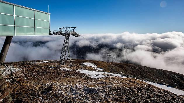 V pátek 1. května obnoví provoz i lanová dráha na Sněžku.