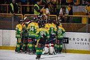 Hokejové derby Trutnov - Dvůr Králové (1:2 po prodl.)