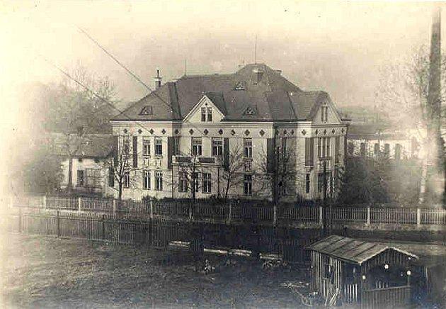 Podoba Sochorovy vily v roce 1922