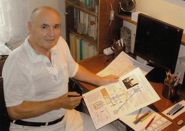 Václav Jirásek je rovněž autorem řady publikací a článku. Objevil mnoho zajímavých detailů a sám říká, že ho vždy něco překvapí.