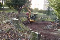 Začíná oprava bývalé synagogy v Trutnově.