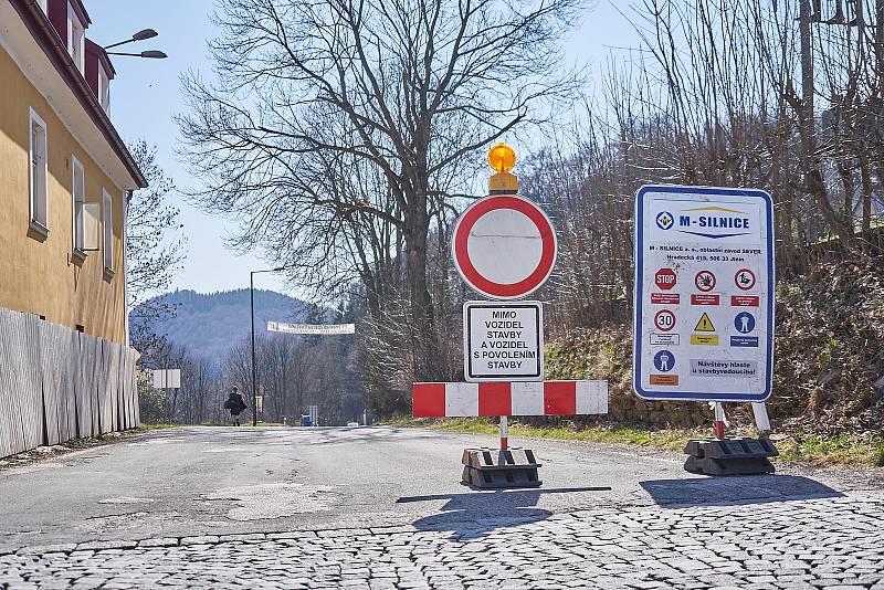 V Žacléři začne ve středu rekonstrukce hlavní silnice z Prkenného Dolu na Rýchorské náměstí.