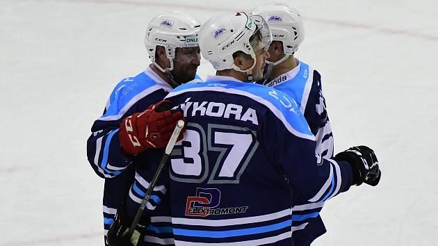 Vrchlabští hokejisté na domácím ledě smázli soupeře z Jablonce nad Nisou deseti góly.