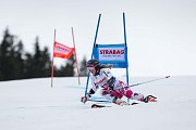 Kmochová Tereza. Světový pohár v lyžování ve Špindlerově Mlýně