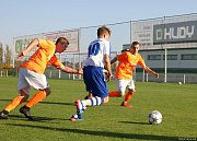 Fotbalisté z Vrchlabí na domácím hřišti porazili Kostelec nad Orlicí 3:2.