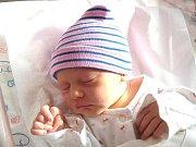 SOFIE SOBOTKOVÁ se narodila 10. dubna ve 2.36 hodin rodičům Kateřině a Karlovi. Vážila 3,14 kg a měřila 48 cm. Doma je rodina v Suchovršicích.