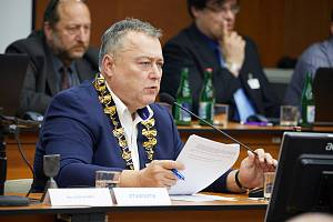 Trutnovský starosta Ivan Adamec.
