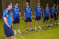 Volejbalisté TJ Spartak Vrchlabí.