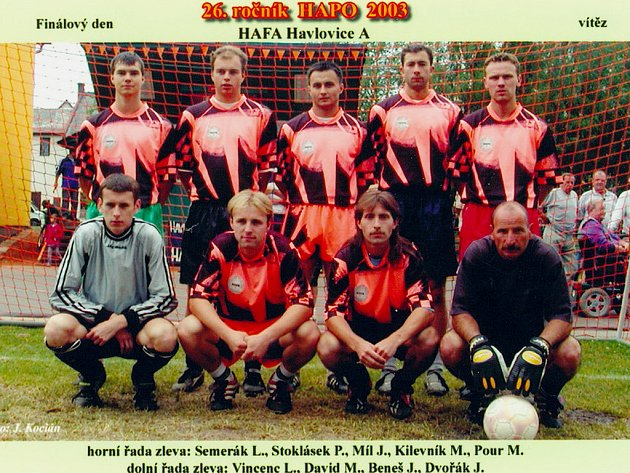 2003 - HAFA Havlovice