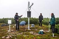 Nová meteostanice na Studniční hoře