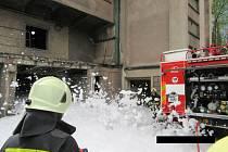 V elektárně hořelo, museli evakuovat zaměstnance