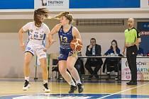 RENOMIA ŽBL basketbalistek - nadstavbová skupina B: BK Loko Trutnov - DSK Levhartice Chomutov 87:71.