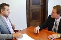 Trutnov navštívil iniciátor konceptu MHD zdarma