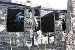 Shořela. Oblíbenou horskou chatu trutnovské základní školy kpt. Jaroše zničil požár 15. prosince 2019.