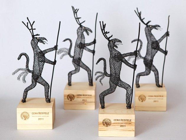 CENU ŘEDITELE Správy KRNAP symbolizuje každoročně soška s vyobrazením Krakonoše/Rübezahla.